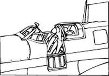 Supermarine Spitfire Mk I, II Vacuform Canopy x2 for Airfix (1/72 Squadron 9123)