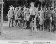 Lex Barker, Henry Brandon - Tarzan and the She-Devil (1953)   - 8 1/2 X 11