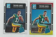 2016  Donruss Optic  TREVOR DAVIS  Red Yelow & Base Rookie