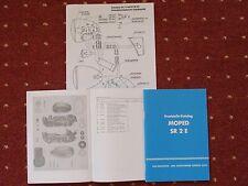 Ersatzteile-Katalog SR 2 E Ersatteilkatalog Liste Teileliste Moped NEU