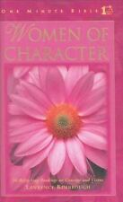 Women of Character: 90 Refreshing Readings on Courage and Virtue One Minute Bib