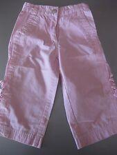 Hosen Jeans Rosa Gr. 80 mit seitl. Beinschmuck, Sommerhose, sehr schön