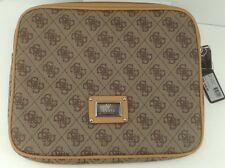 Women's GUESS Brand Brown Beige iPad Tablet Sleeve - $45 MSRP - 10% off