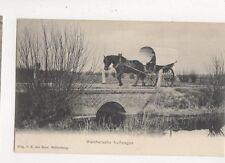 Walchersche Huifwagen Netherlands Vintage U/B Postcard 697a