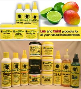 JAMAICAN MANGO AND LIME RASTA LOCK & TWIST HAIR CARE PRODUCT-FREE UK POST!!!!!!!