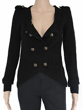 Women's Chunky, Cable Knit Knit Long Sleeve Button Wool Blend Jumpers & Cardigans