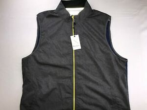 NWT ROBERT GRAHAM YODA ACTIVE FIT X COLLECTION VEST JACKET 2XL GRAY MSRP $168