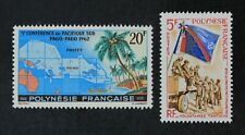 CKStamps: France Stamps Collection French Polynesia Scott#198 210 Mint H OG