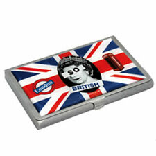 Etui métal pour cartes de visite So British