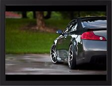 """INFINITI G35 TUNING A3 FRAMED PHOTOGRAPHIC PRINT 15.7"""" x 11.8"""""""