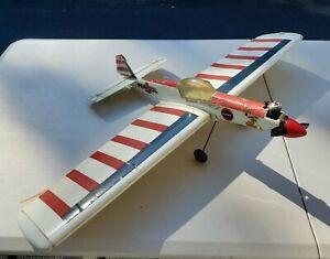 Cox 049 Engine Super Chipmunk Control Line Stunt Flyer for parts or restore.
