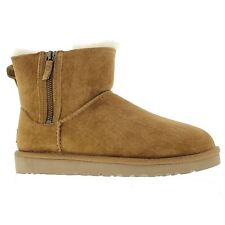 UGG Australia Patternless Zip Boots for Women
