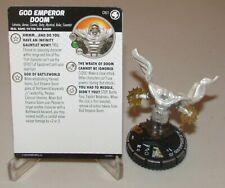 061 God Emperor Doom-Chase Rare--NM-Fantastic Four Marvel Heroclix
