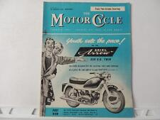The Motorcycle Magazine Jan 28 1960 Triumph Norton BSA Matchless AJS Ariel L427