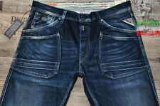 Replay Regular Mid Rise Tapered Jeans for Men