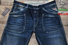 Replay Regular Jeans Men's Mid Rise Distressed
