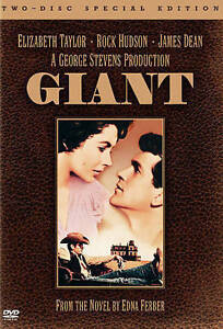 Giant (DVD, 2005, 2-Disc Set Special Edition) *NEW SEALED* 1956 Elizabeth Taylor