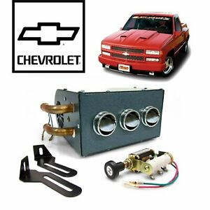 88-98 Chevy/ GMC OBS Truck Compact Under Dash Auxiliary Cab Heater Box 89 454 SS