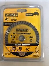 Dewalt 4 12 Turbo Rim Xp Diamond Cutting Blade Dw4701