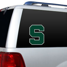 MICHIGAN STATE SPARTANS College WINDOW FILM - Large Decal Home Auto Fremont Die
