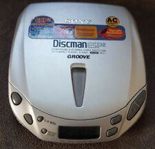 Sony CD Player Discman ESP2 D-E405 Player Only Shock Protection Groove