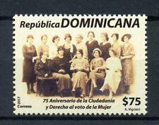 Dominican Republic 2017 MNH Women's Suffrage Vote 75th Anniv 1v Set Stamps