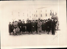 RARA COPPIA DI FOTO DI NOCERA INFERIORE (SA) FESTA DI SANTA BARBARA 1939 11-342