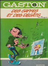 GASTON  FRANQUIN  N°6 EO 1968 DES GAFFES ET DES DEGATS Editions DUPUIS