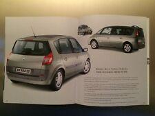 Renault Brochure - Scenic, Clio, V6, Kangoo, Modus, Megane, Laguna, Vel Satis