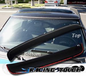 Sunroof Visor Rain Guard Deflector Sunvisor For Small Compact Size Vehicle 880mm