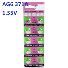 10X Batteries AG6 L921 LR69 371A SR69 Coin Button Cell Battery Watch camera ♫