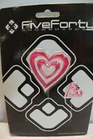 New 540 Hearts Snowboard Stomp Pad Pink and White 2 Pieces Snowjam