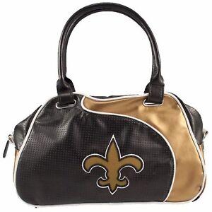 New Orleans Saints NFL Perfect Bowler Purse Hand Bag