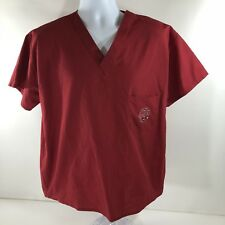 Unisex Adult South Carolina Gamecocks Scrubs Top Shirt Garnet Red Medical MEDIUM