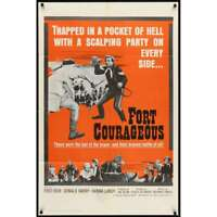 FORT COURAGEOUS Affiche de film 69x104  - 1965 -