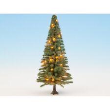 HS Noch 22131 Beleuchteter Weihnachtsbaum grün mit 30 LEDs 12 cm hoch