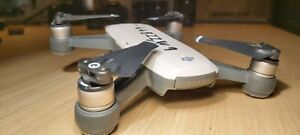 DJI Spark Drone - alpine white (for parts - read description)