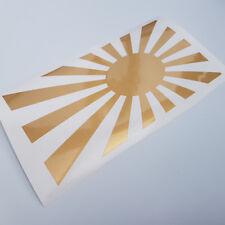 Rising Sun Japan Flagge Metallic Gold Auto Aufkleber Tuning Shocker JDM Sticker