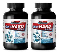 Enhancement Pills For Men - Get Hard Pills 1800mg - Yohimbe Capsules 2B