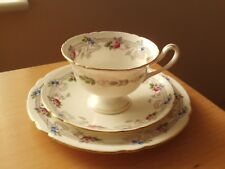 Pretty Vintage Shelley China Trio Cup/Saucer/Plate Gainsborough Pink Rose 10776