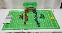 Kaskey Kids Football Guys Miniature Toy Plastic Set Figures Quarterback Game Toy