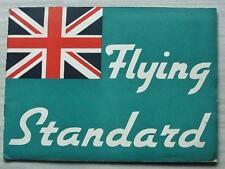 STANDARD CARS Sales Portfolio Brochure 1937 NINE Ten TWELVE Fourteen TWENTY V8