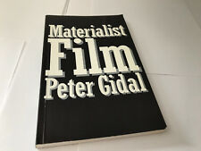 Materialist Film Routledge Library Editions Cinema1989 Peter Gidal 9780415003827