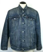 Levi's Trucker Jean Jacket Mens Size XL Denim Medium Wash Blue Vintage Denim