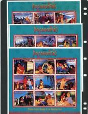 Guyana) 1995 Disney Scott# 2985-7 Mint Nh