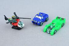 Transformers Cybertron Recon Mini-Con Team Complete Jolt reverb Six Speed