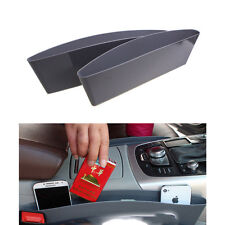 2× Car Seat Gap Slit Pocket Storage Catch Catcher Box Organizer Holder Box Caddy
