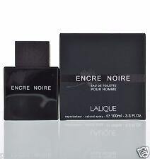 Encre Noire by Lalique Pour Homme Eau De Toilette 3.3 OZ New Sealed