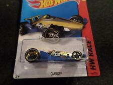 HW HOT WHEELS 2015 HW RACE #161/250 CARBIDE HOTWHEELS GOLD/BLUE VHTF