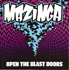 MAZINGA - Open The Blast Doors (CD 2008)